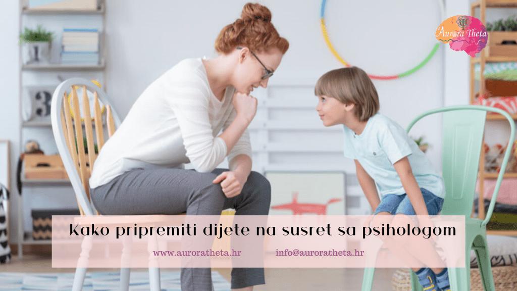 Kako dijete s psihologom